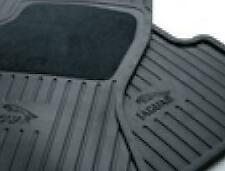 Genuine Jaguar Floor Mat - Rubber Front - Early C2S38989