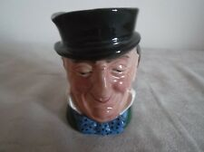 ROYAL DOULTON ~  MR MICAWBER~   SMALL CHARACTER JUG   ~ D 5843 ~  8.3 CM HIGH