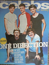 Celebs magazine ONE DIRECTION , THOM EVANS