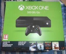 BRAND NEW MICROSOFT Xbox One 500GB Console game Bundle
