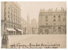 France, Nancy, Rue de Dominicains  vintage silver print Tirage argentique  7