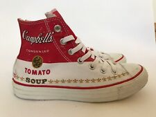 Converse Chuck Taylor High Top Andy Warhol Soups Up Women UK 5