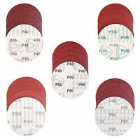 5in / 125mm Sanding Paper Discs Bosch Black & Decker Orbital Sander 40-600 Grit