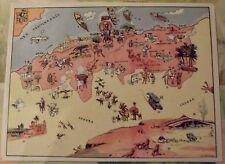 Carte de France Illustrées d'après J.P.Pinchon Oran Alger Couscous Bougie Bone