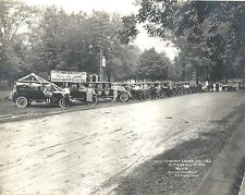 July 4th 1923 Photograph Willys-Knight & Overland Autos in a Parade Oxford OH
