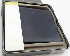 Fossil PAUL BF FP ID Men's Navy Blue Leather Bifold Wallet ML3891400 $45 NEW