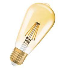 Osram Parathom Led Edison 2 8w 21w 410 lumen a Vintage 1906 oro 2400k