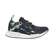 adidas NMD R1 PK (Marble) in Core Black/White/Green White, 7.5