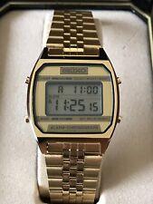 Beautiful Men's Vintage Seiko Digital Watch New Old Stock?? Works Great!