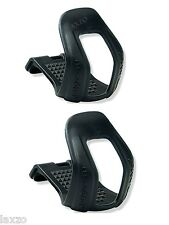 Zefal Bicycle Half Toe-Clips 45 Black Strapless In S/M And  L/XL Mountain Bike