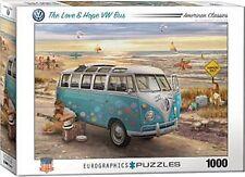El amor y esperanza VW Bus 1000 Pieza Rompecabezas 680mm X 490mm (PZ)