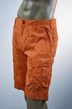 Ralph Lauren Men Orange Cargo Shorts/Orange RL Logo Size 31 NWT