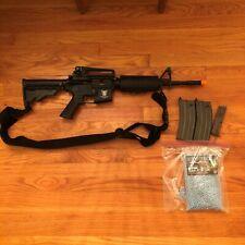 G&G Gas Blowback M4 Carbine Combat Machine Airsoft Rifle w/extras