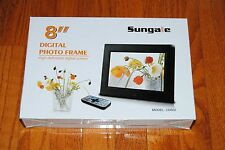 Sungale CD802 8-Inch Digital Photo Frame (Black)