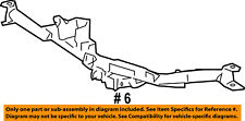 Lincoln FORD OEM 07-08 Mark LT Rear Bumper-Reinforcement 7L3Z17D826B