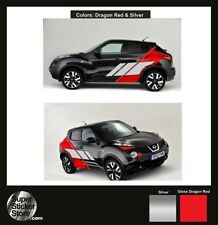 Nissan Juke Stickers CUSTOM Car Whole Body Styling Decal Vinyl Red Silver