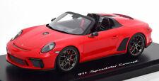 1:18 Spark Porsche 911 (991/2) Speedster Concept mit Vitrine 2019 red