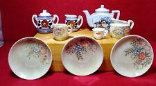 Miniature Creamers / Sugars / Teapot / Plates Lusterware Huge Varied Lot Vintage