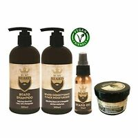 By My Beard - Beard & Moustache Care Essentials 4 Set- Shampoo,Conditioner & Oil