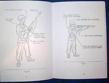 1943 AUSSIE MANUAL RIFLE - SMLE NO1 MK3* & NO4  BOOKLET WW2