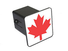 Canada Maple Leaf Flag - Tow Trailer Hitch Cover Plug Insert Truck
