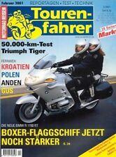 TF0102 + Vorstellung BMW R 1150 RT + K 1200 RS + Tourenfahrer 2/2001