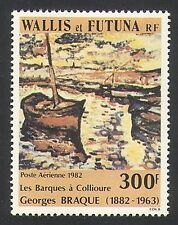 Wallis & Futuna 1982 Braque/Art/Artists/Paintings/Fishing Boats 1v (n34756)