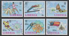 Liberia - 1976, Winter Olympic Games set - CTO - SG 1260/5 (f)