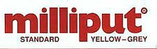 Milliput 0001 Yellow Grey (Standard) Milliput Epoxy Putty 4 oz (113.4 g) Package