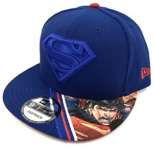 Superman DC Comics Justice League Snapback New Era Vivid Vize 9Fifty 950 Hat Cap