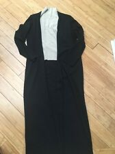 Anne Klein Women's Black Duster Open Cardigan Sz L & Shell Cami Sz M Knit New!!!
