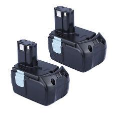 2X Battery For Hitachi EBM1830 327730 BCL1815 DH18DL DS18DL DV18DL 18V 5000mAh