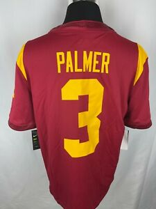 NWT NIKE Authentic USC Carson Palmer #3 Cardinal & Gold Jersey Size M, L & XL