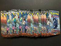x18 Pokemon SM Burning Shadows Booster Packs (English) 1/2 Box