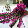 Artifical Fake Flowers Ivy Vine Hanging Garland Plant Wedding Home Wedding Decor
