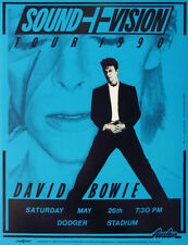 David Bowie Rock Music Posters