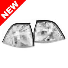 92-99 BMW E36 3-SERIES 2DR COUPE/CONVERTIBLE EURO CORNER LIGHTS - CLEAR