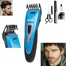 New Rechargeable Cordless Hair Trimmer Clipper Beard Haircut Styles Washable