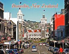 New Zealand - DUNEDIN - Travel Souvenir Flexible Fridge Magnet