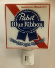 Super Nice Pabst Blue Ribbon Beer Porcelain Night Light