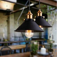 Ceiling Lamp Vintage Industrial Metal Hanging Pendant Light Fixture Home Decor