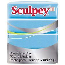 SCULPEY III - Polymer Clay - 57g - LIGHT BLUE PEARL
