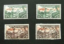 New Zealand-1946-Two Health sets-Used
