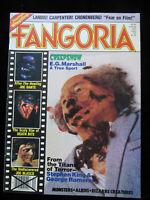 Fangoria Magazine #20 July 1982 Creepshow The Howling Joe Dante King Romero
