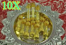 10X Thai Amulet Lot Buddha Guard Lord Wessuwan Giant Pendant Figurine Ghost King