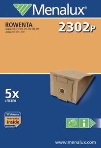 Menalux 6972p - 10 Sacs pour aspirateur VORWERK Folletto Kobold