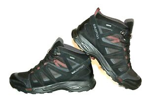 Salomon X Ultra Mid GTX Herren Schuhe Boots Trek.Wander, LEDER, TOP! Gr.45 (1/3)