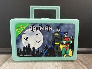 Batman Vintage Glow in the Dark Pencil Case Box 1999 Rare Katchalls See Photos