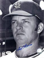 LEE THOMAS Autographed 8x10 Photo JSA COA (Pose 1) (MAX SHIPPING)
