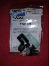 OMRON CONNECTOR PLUG ASSEMBLY XS2G-D4S1 NIB